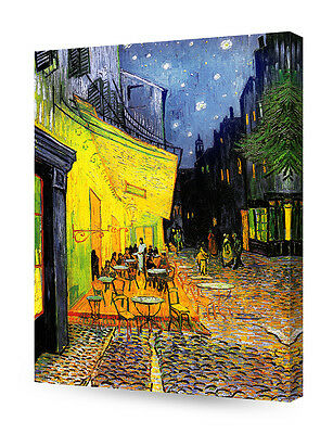 DecorArts The Night Cafe in the Place Lamartine in Arles Giclee Print on Canvas