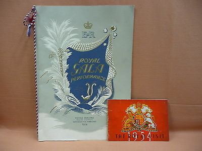 Royal Gala Performance 1954 Tivoli Theatre Programme plus souvenir program