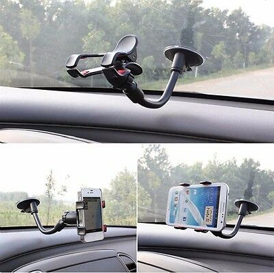 Universal Mobile Phone PDA In Car Windshield Suction Mount Holder Cradle Stand