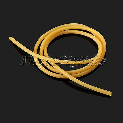 Strong Natural Latex Rubber Band Tube Slingshot Catapult Elastic Parts 2x5mm 1M