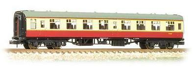 GRAHAM FARISH 374-010D 1:148 N SCALE BR Mk1 Open Second SO Coach Crimson & Cream