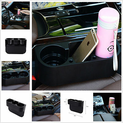 Universal Large Car Van Storage Drinking Bottle Can Cup Holder Phone Mount Stand