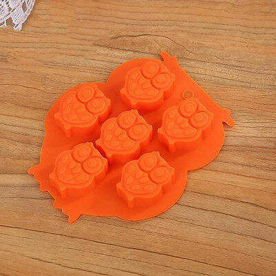 Hot sale Owl Shaped Diy Household Pudding Jelly Silicone Tray Maker Mould Mold