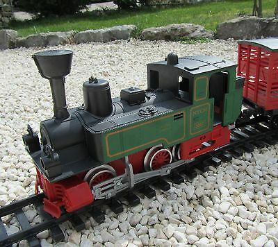 """Train set with Farm accessories and Rails battery operated """"Children Starterset"""""""