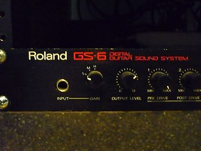 Roland GS 6 guitar preamp mesa-like overdrive EQ gate chorus delay reverb