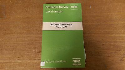 Hexham & Haltwhistle: Ordnance Survey Landranger Map 1:50000 Sheet #87 (M3)