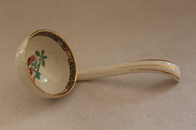 Porcelain Indian Tree Pattern Ladle
