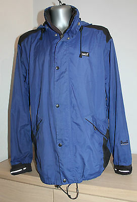 HALTI DRYMAX FINLAND Jacket Hooded Breathable Waterproof Windproof Blue Size L