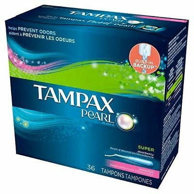 Tampax Pearl Multipak Scented 36ct
