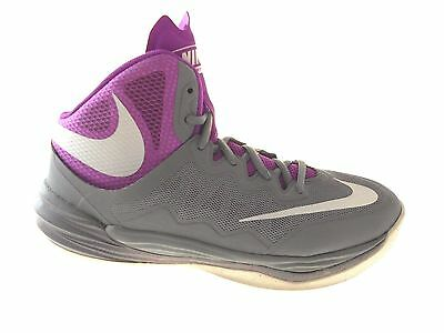 Nike PRIME HYPE DF 2 - 806941 005 - New Grey Purple Basketball Shoes Sz M9-W10.5