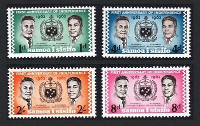 Samoa 1963 1st Anniv of Independence MNH