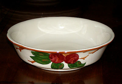 "Franciscan APPLE 7"" Vegetable Serving Bowl - Made In California"