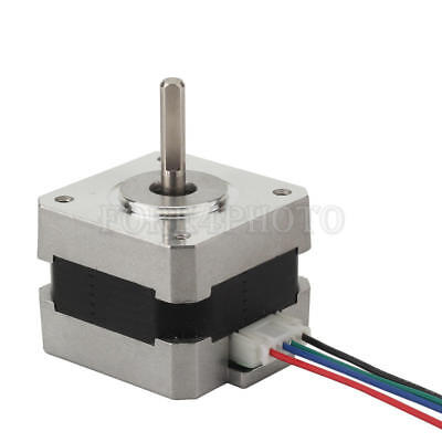 Nema 17 Stepper motor shaft for 5mm pulley RepRap CNC Prusa Rostock 3D printer