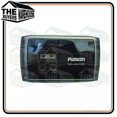 New Fusion Ms-Am702 2 Channel Marine Zone Amplifier Speakers Amp Boat Rv Outdoor