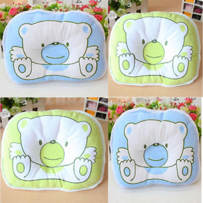 Cute Newborn Baby Infant Pillow Cushion Sleep Positioner Prevent Flat Head Soft