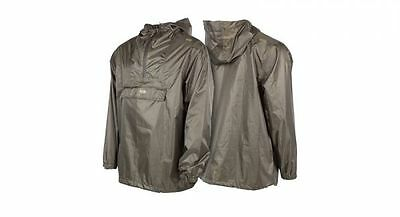 Nash Tackle NEW Fishing Green Waterproof Packaway Jacket *All Sizes*