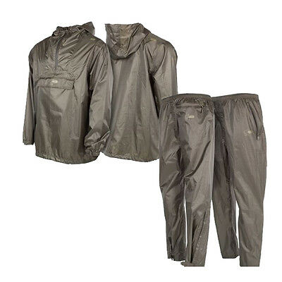 Nash Tackle NEW Waterproof Packaway Jacket & Trousers Combo Clothing *All Sizes*