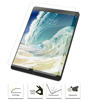 """Genuine 9H Tempered Glass Screen Protector Cover for Apple iPad Pro 10.5"""""""