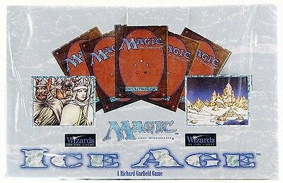Factory Sealed ICE AGE 36 Booster Box Mtg Magic English