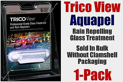 Aquapel Trico View Glass Treatment Rain Repelling 4-6 Month Professional 1-Pack