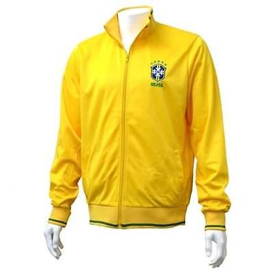 Brazil Mens Official Football Track Jacket Sports Tracksuit Brasil NEW GIFTS