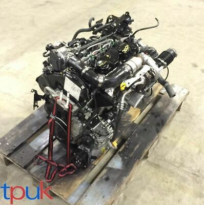 Ford Fiesta Engine Gearbox Mk9 2012 On 1.6 1600 Econetic 95Ps Dv6 Less 500 Miles