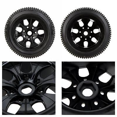 Topselling GoolRC 2Pcs RC 1/8 Truck Car Wheel Rim and Tire 810011 for HSP RC Car