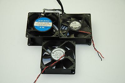"""Lot of 3, 3""""Axial Fans, Models Vary in Lots"""