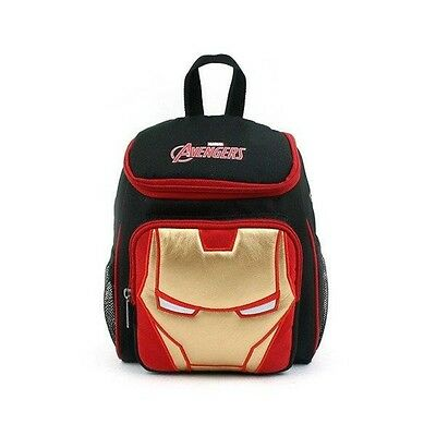 Kids Toddler Baby Ironman Point Bag Safety Harness Backpack - Black