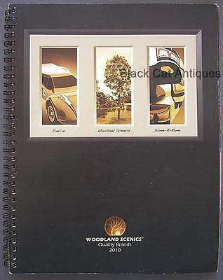 2010 Woodlands Scenics Train Accessories Dealer Catalog with Prices 148 pgs