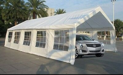 20x30 Party Tent With Windows (Fire Retardant)