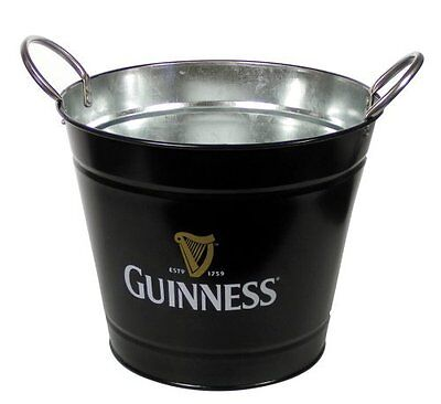 Guinness Ice Bucket Metal with Logo