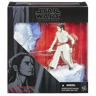 Star Wars Black Series 6'' Starkiller Base Rey + Lightsaber Hasbro NEW