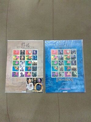 Taiwan Stamp-Lord of the Rings-Special Individualized Stamps-A