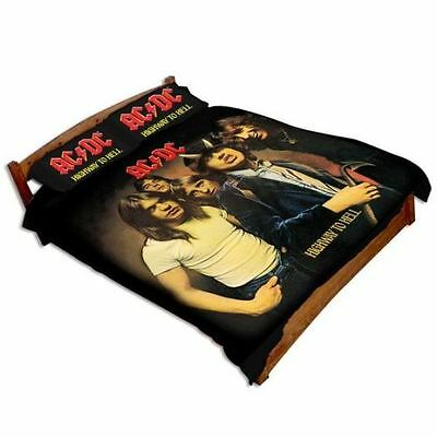 Double Size Large Band Image Highway To Hell Doona Cover Acdc Ac Dc Band Rock