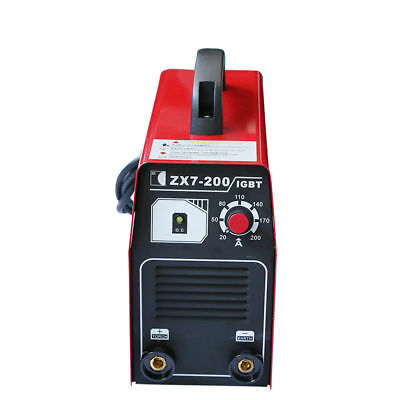 220V ZX7-200 IGBT DC Inverter Welding Equipment Portable MMA ARC Welder Machine