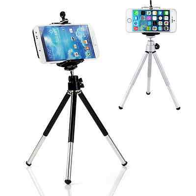 Universal Mini Tripod Stand +Cell phone Mount For iPhone 6 Plus 5s 5c GALAXY S4