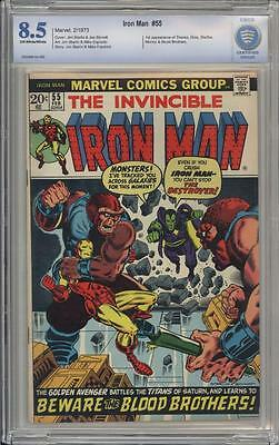 IRON MAN 55 - CBCS 8.5 - First appearance of Thanos - Marvel Comics
