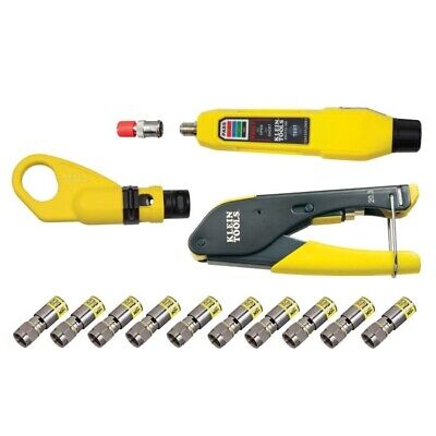Klein Tool Coax Cable Installation & Test Kit