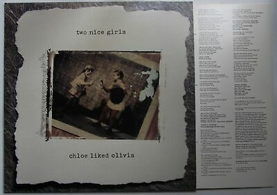 Two Nice Girls Chloe Liked Olivia US Rough Trade LP + Insert 1991