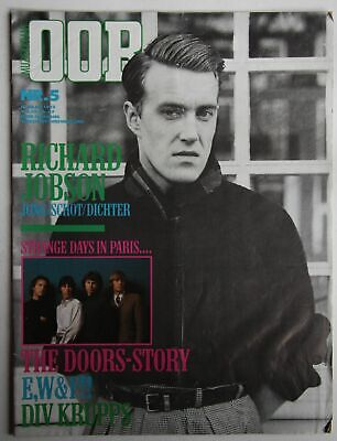 Dutch Oor Mag 5/1982 Richard Jobson Coverstory The Skids