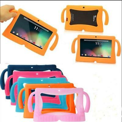 """Cute Universal 7"""" Inch Soft Silicone Cover Case For Android Kids Tablet PC - 6A"""