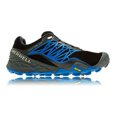 Merrell All Out Terra Mens Blue Black Trail Running Sports Shoes Trainers
