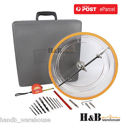 Adjustable Downlight Holesaw Ceiling Wall TCT HSS Cutter Hole Saw 300 mm T0235