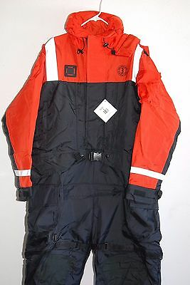 Mustang Survival Breathable Immersion / Cold Weather Work Suit Large MSD900 NEW
