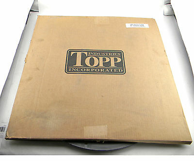 "TOPP INDUSTRIES STRUCTURAL FOAM SEWAGE BASIN POLY COVER 2x2 DIA 21"" W / GASKET"