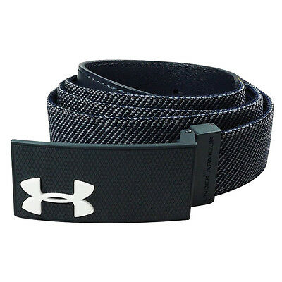 New 2016 Under Armour Performance Stretch Belt COLOR: Academy - Jordan Spieth
