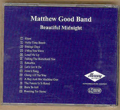 Matthew Good Band - Beautiful Midnight Advance CD