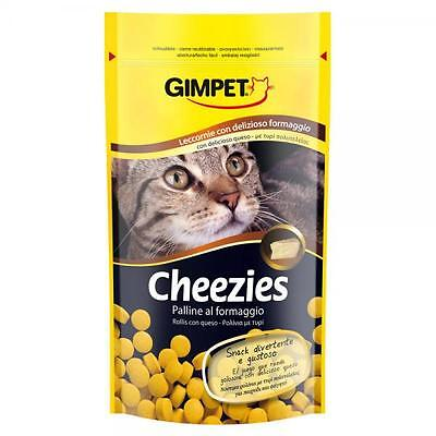 GIMPET Snacks Cheezies chat - boules de fromage 50 gr - Friandises pour chats