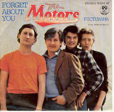 Motors Forget About You German 1978 Diff. PS Single Powerpop New Wave